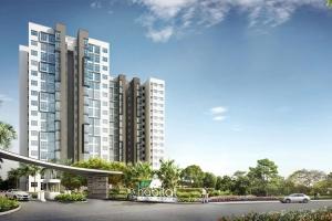 Cho thuê căn hộ chung cư Habitat Thuận An  đầy đủ tiện nghi