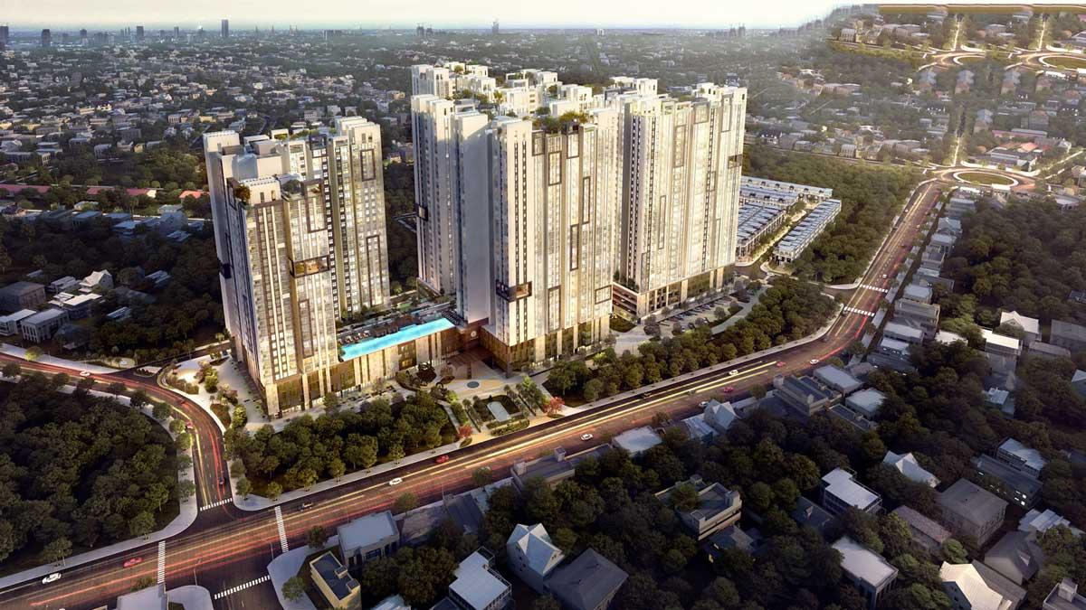 Dự án căn hộ chung cư Grand View tại Bình Dương