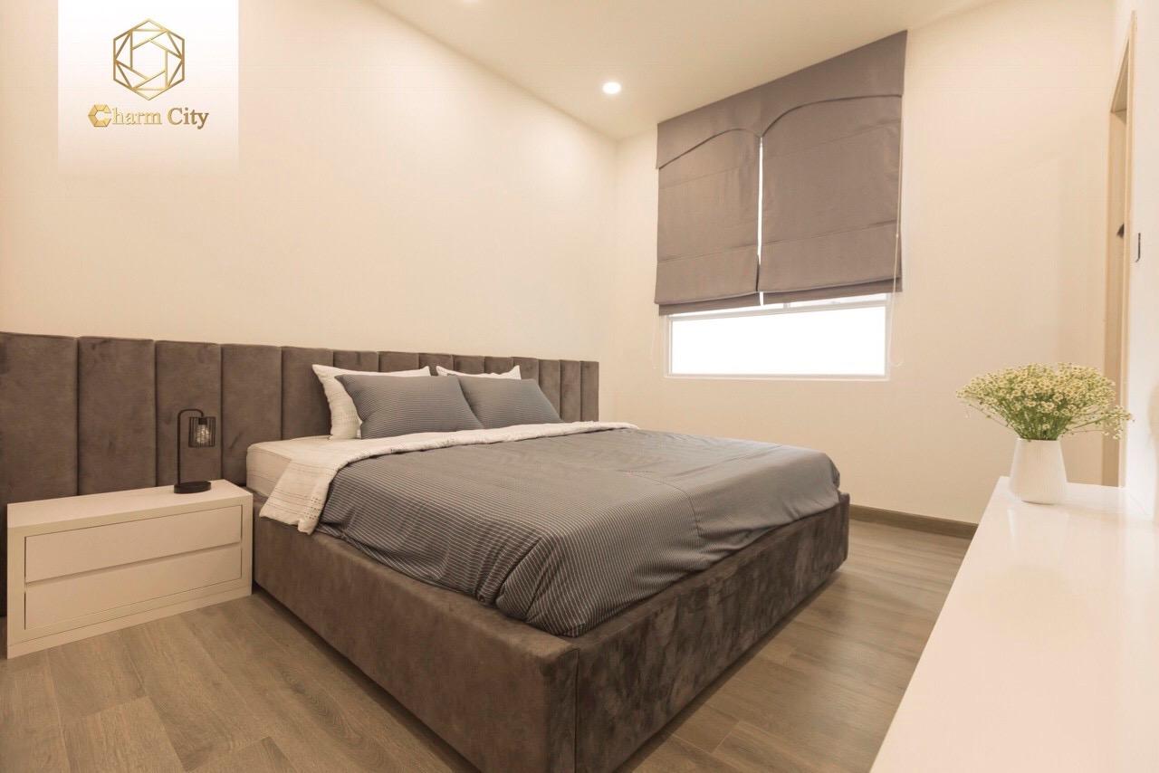 Phòng khách căn hộ 3 phòng ngủ Charm City Bình Dương 6